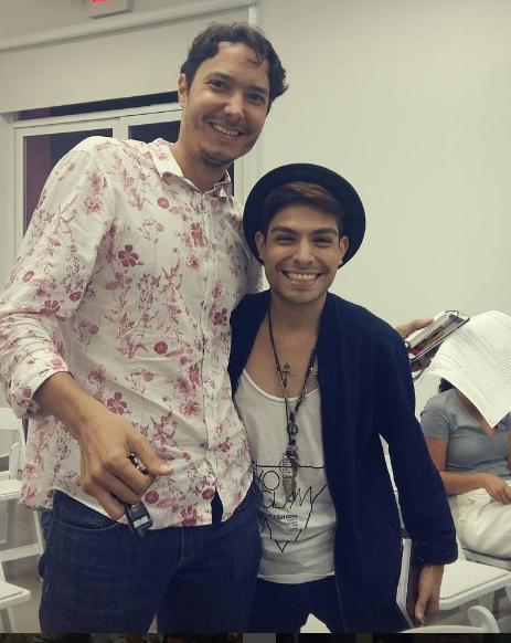 Donald Ricci y Sergio Salmerón