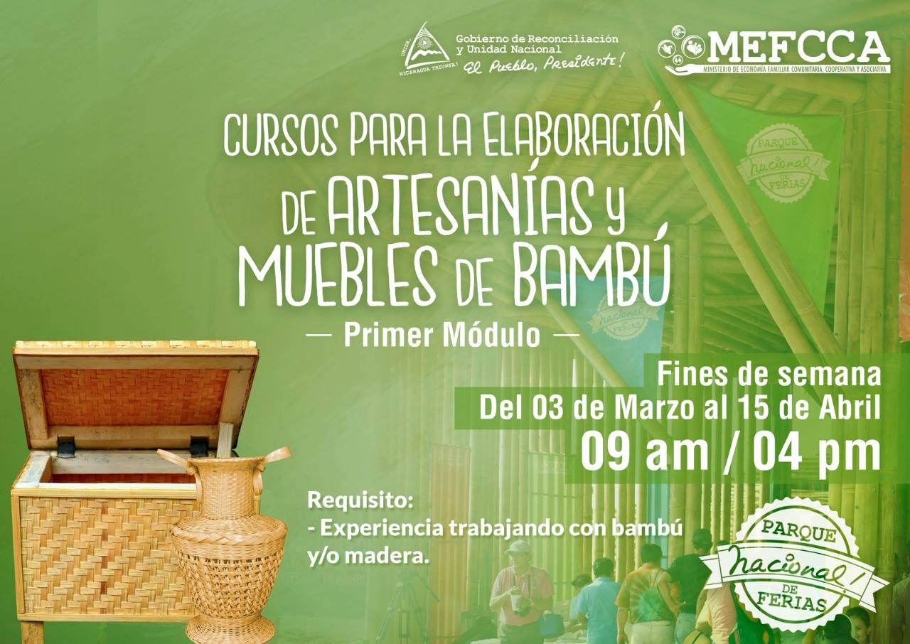 Mefcca Abre Convocatoria Para Elaboraci N De Artesan As Y Muebles  # Muebles Debambu