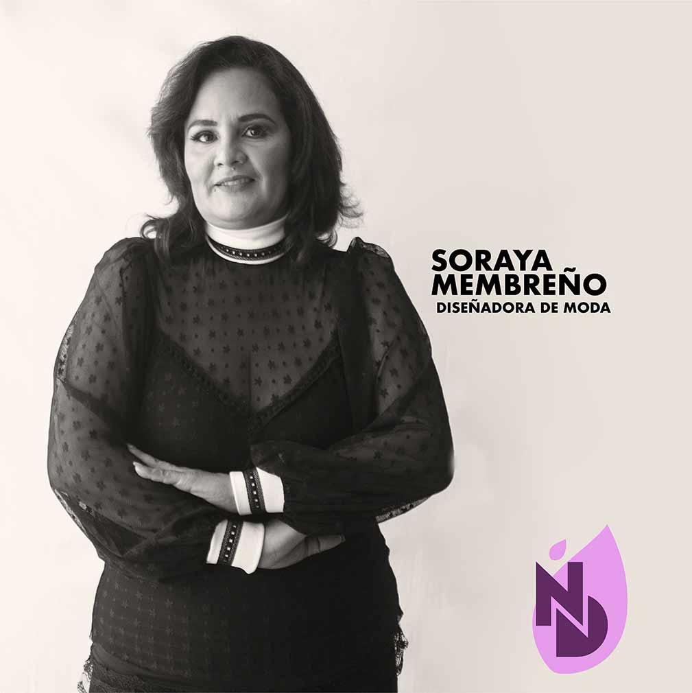 Diseñadora Soraya Membreño