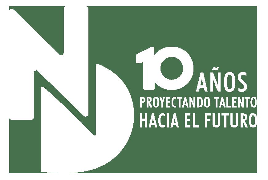 logo 10 blanco