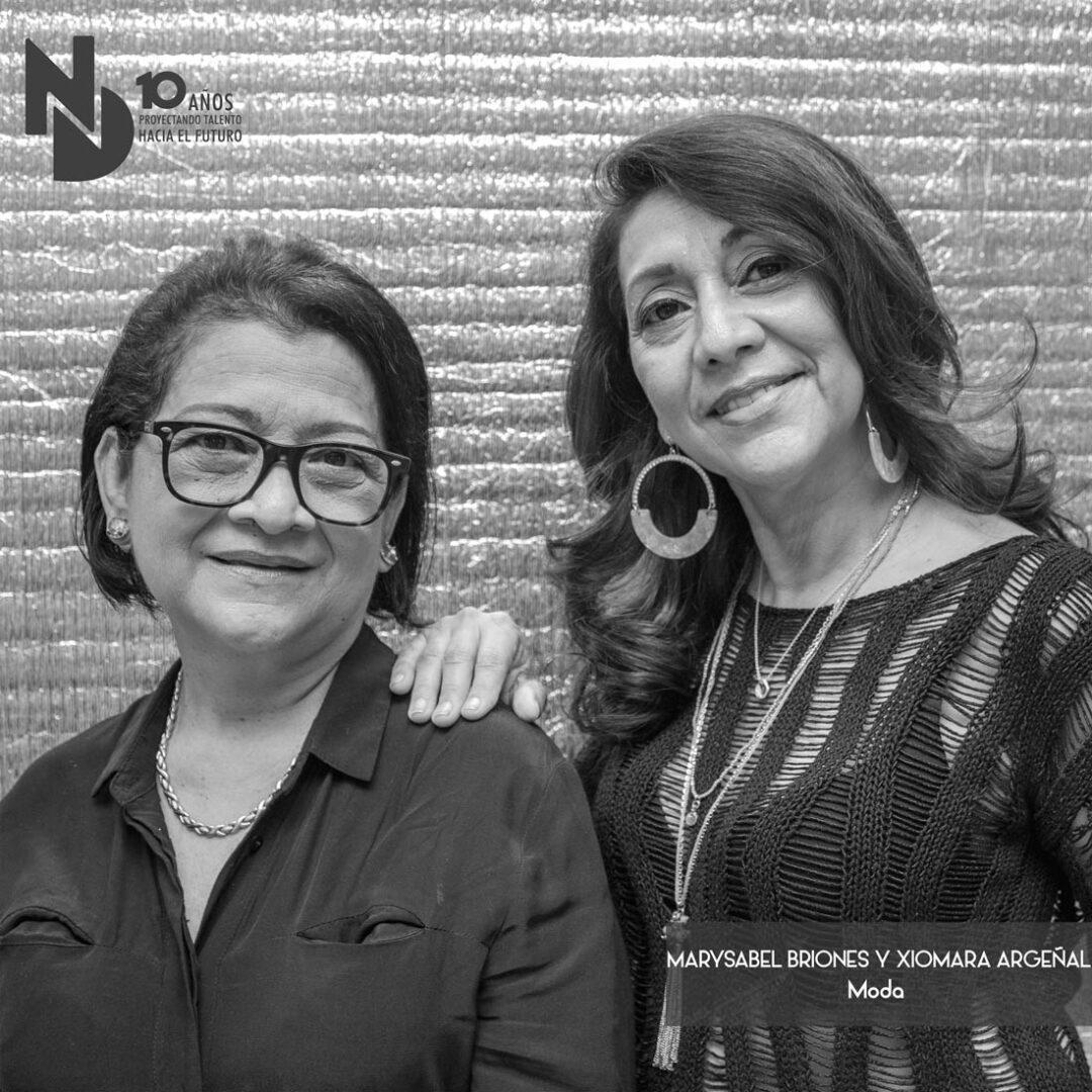 Marysabel Briones y Xiomara Argeñal